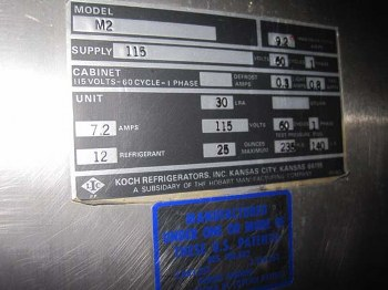 Pierce Food Service Equipment Co Inc M2 Koch Four Half