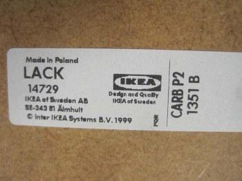 Pierce Food Service Equipment Co Inc Carbp2 Ikea Lack